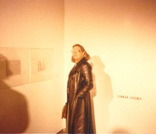 betty danon at her exposition_1980